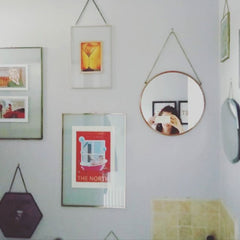 mum made interiors instagram gallery wall