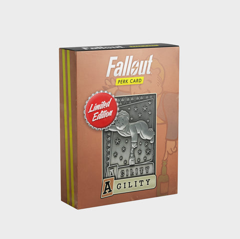 Fallout - Limited Edition Replica Perk Card - Agility