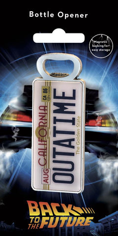 Back to the Future bottle opener Back to the Future