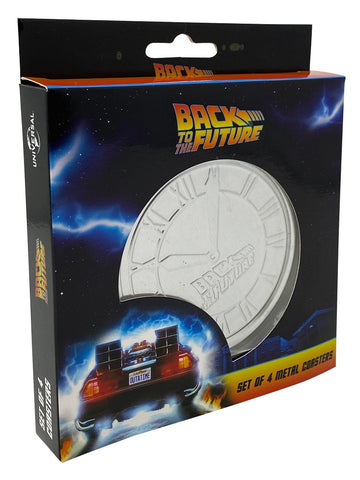 Back to the Future drink coaster set (4)