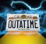 Back to the future numberplate