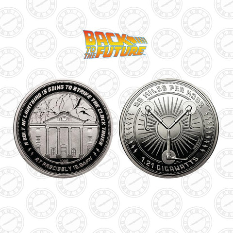 Back to the Future - Clocktower Coin Back to the Future