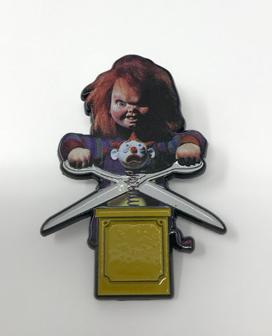 Chucky - Limited Edition Large Pin Badge