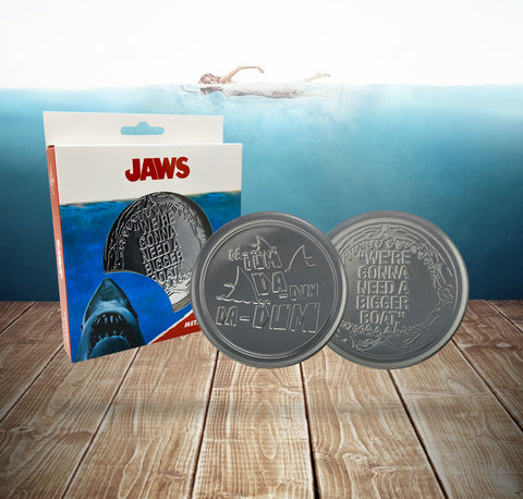 Jaws drinks coaster set of 4