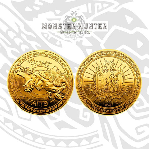 Monster Hunter - Limited Edition Gold Coin