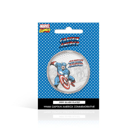 Marvel Coin - Captain America Marvel