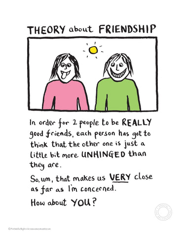 Theory of Friendship Edward Monkton