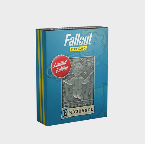 Fallout - Limited Edition Replica Perk Card - Endurance