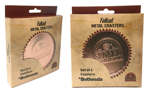 Fallout Sunset Sarsaparilla Coaster Set