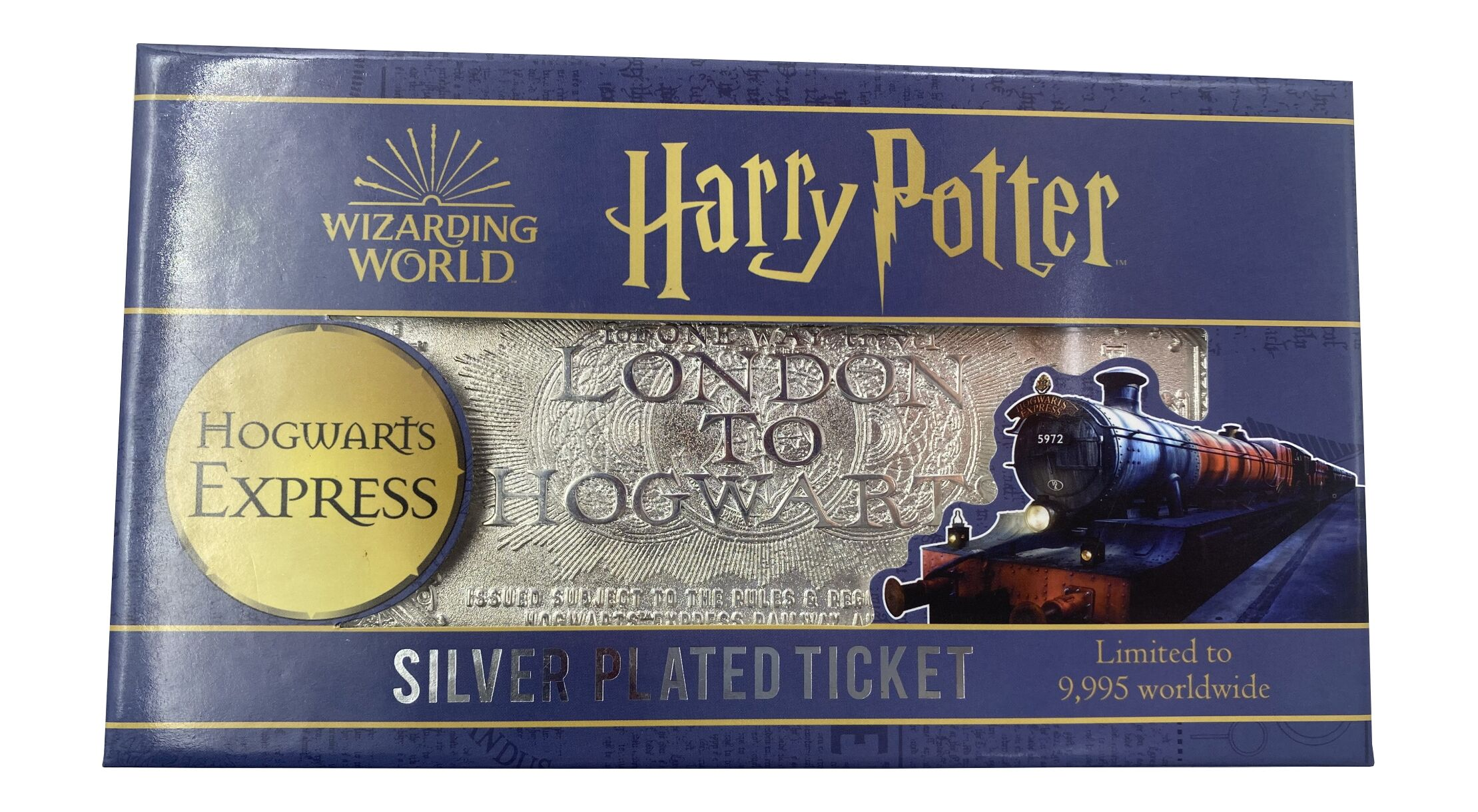 Harry Potter Hogwarts Express ticket