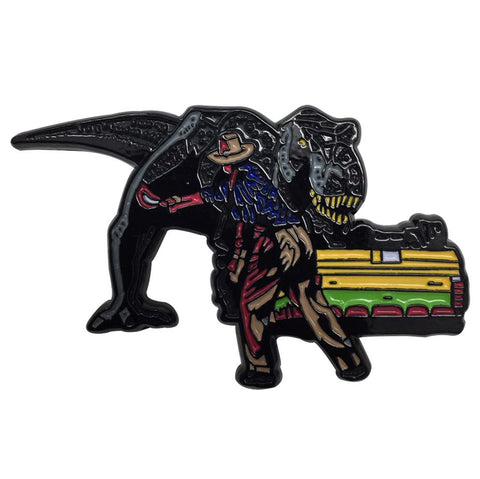 Jurassic Park - Limited Edition Large Pin Badge Pin Badge Jurassic Park Gift