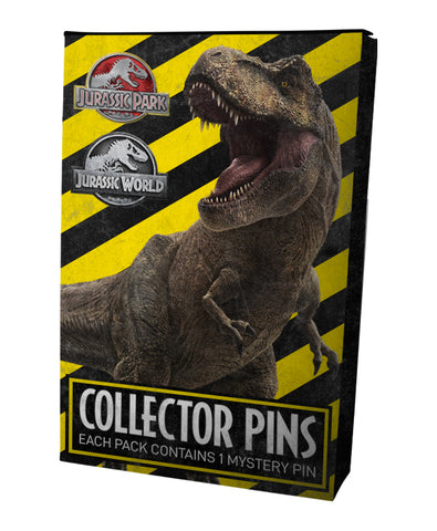 Jurassic Park Mystery Pin Badges - 2 Packs