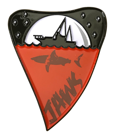 Jaws - Limited Edition Large Pin Badge