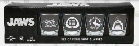 Jaws - Premium Shot Glass set