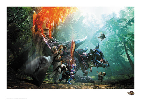 Monster Hunter - Glavenus Monster Hunter