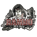 Rambo - Limited Edition Large Pin Badge Pin Badges Rambo