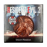 Resident Evil Unicorn Medallion