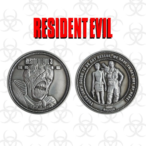 Resident Evil 3 collectible coin