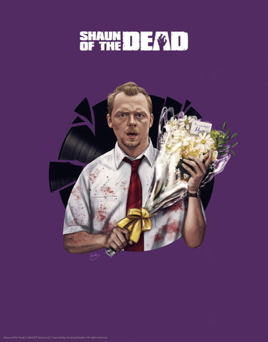 Shaun of the Dead - Flowers Shaun of the Dead