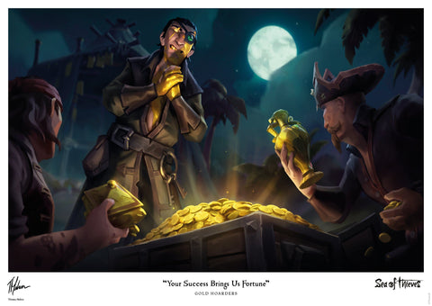 Sea of Thieves - Gold Hoarders Sea of Thieves art print gift