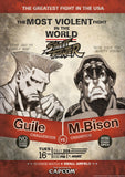 Guile V Bison StreetFighter