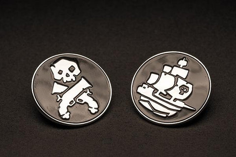 Sea of Thieves - Limited Edition Giant Pin Badge Set