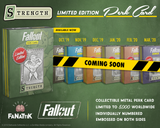 Fallout - Limited Edition Replica Perk Card - Strength