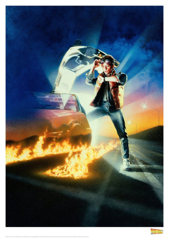 Back to the Future Print Back to the Future