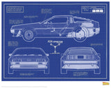 Back to the Future - Blue Prints Back to the Future