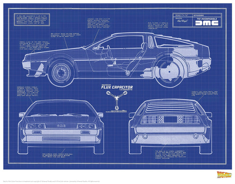 Back to the Future - Blue Prints