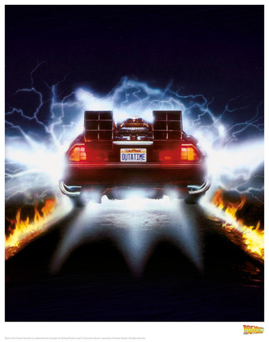 Back to the Future - Flames Back to the Future