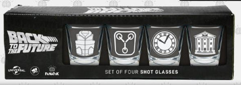 Back to the Future - Premium Shot Glass set