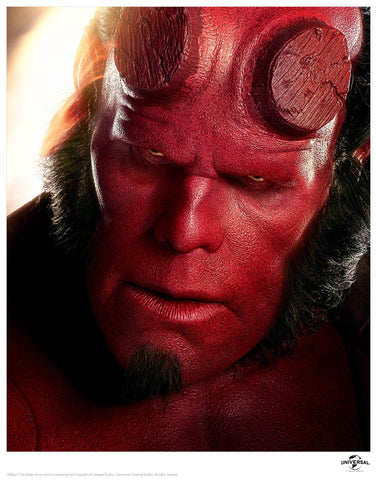 Hellboy - Close Up Hellboy
