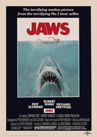 Jaws - Classic Movie Artwork Jaws