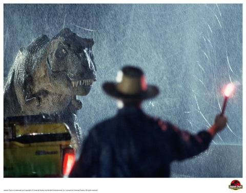 Jurassic Park - The Light Jurassic Park art print