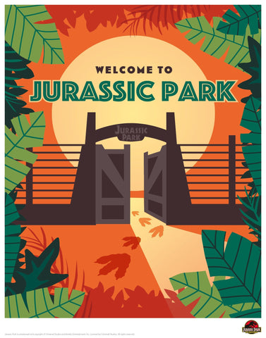 Jurassic Park - Welcome