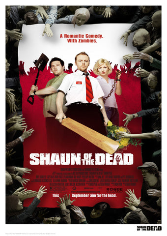Shaun of the Dead - Movie Poster Artwork Shaun of the Dead