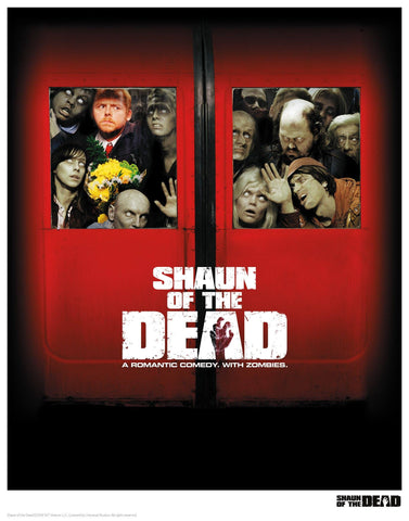 Shaun of the Dead - Squashed Shaun of the Dead
