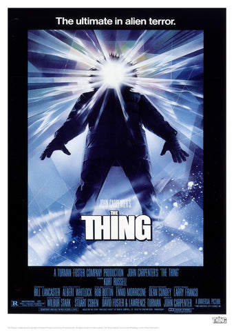 The Thing - Movie Poster Artwork The Thing