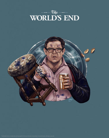 Worlds End - Nick Frost Worlds End