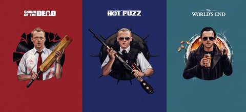Cornetto Trilogy - Simon Pegg Set Shaun of the Dead