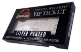 Jurassic Park .999 Silver Plated Ticket