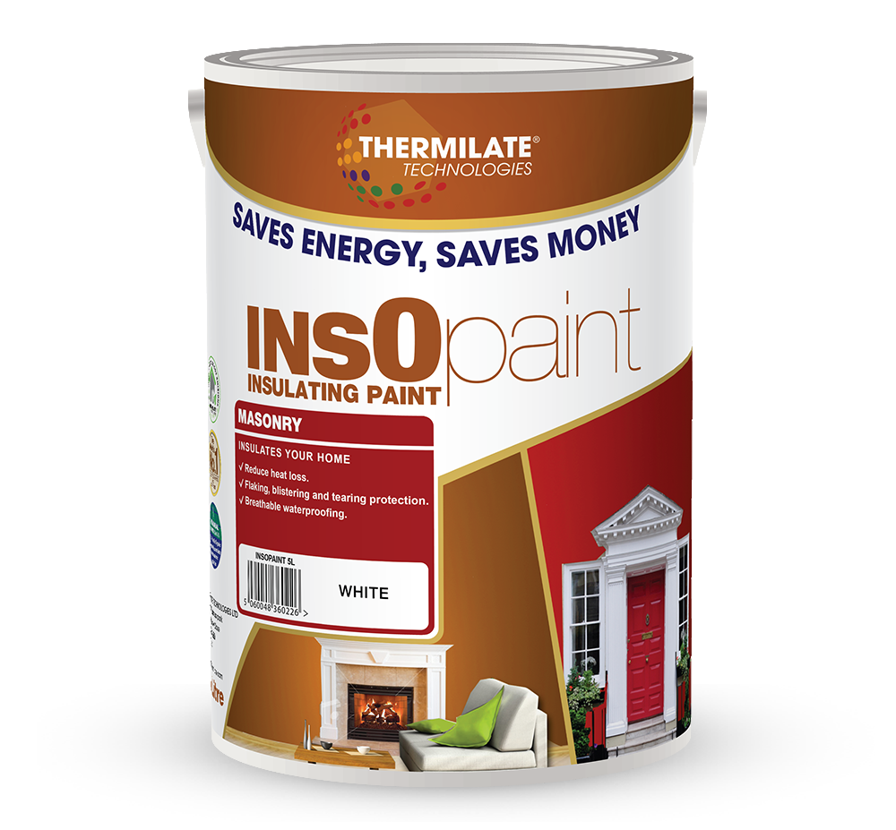 Insopaint Insulating Exterior Masonry Paint Thermilate
