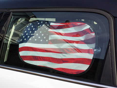 Car Window Shades, Stars & Stripes