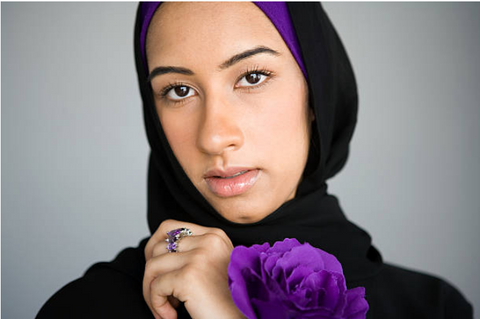 purple, wear purple, purple Thursday, DV Awareness, awareness, muslim community, support,