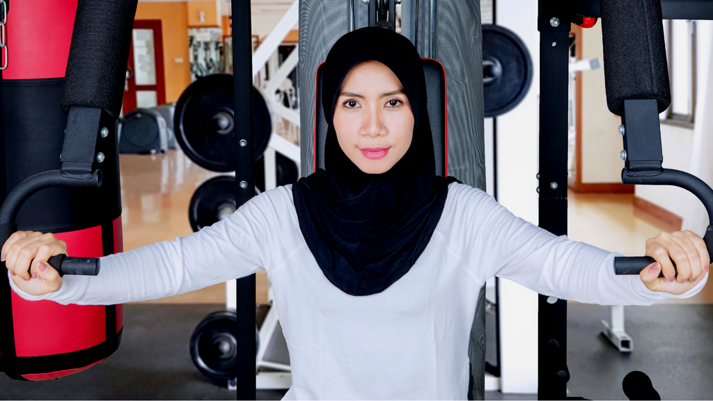 Sport Hijab - MAXI - LiaWear Action, modest workout clothes, sport hijab, long sleeve workout top, modest burkini, islamic swimsuit, cute modest, modest workout pants, muslimah sportswear, muslim modest sportswear, Islamic athletic wear, modest clothing, fit muslimah, active muslimah, fit hijabi, hijab shop, online, plus size muslimah, plus size muslimah sport clothing