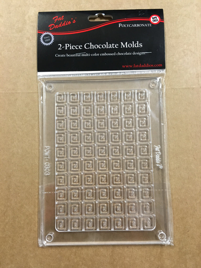 FD 2 Piece Chocolate Molds