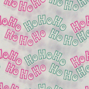 """Ho Ho Ho"" Poly Bag"