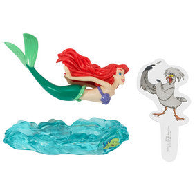 Little Mermaid Ariel & Scuttle Decoset