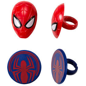 Spider man rings